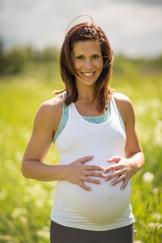 gravidfoto utomhus