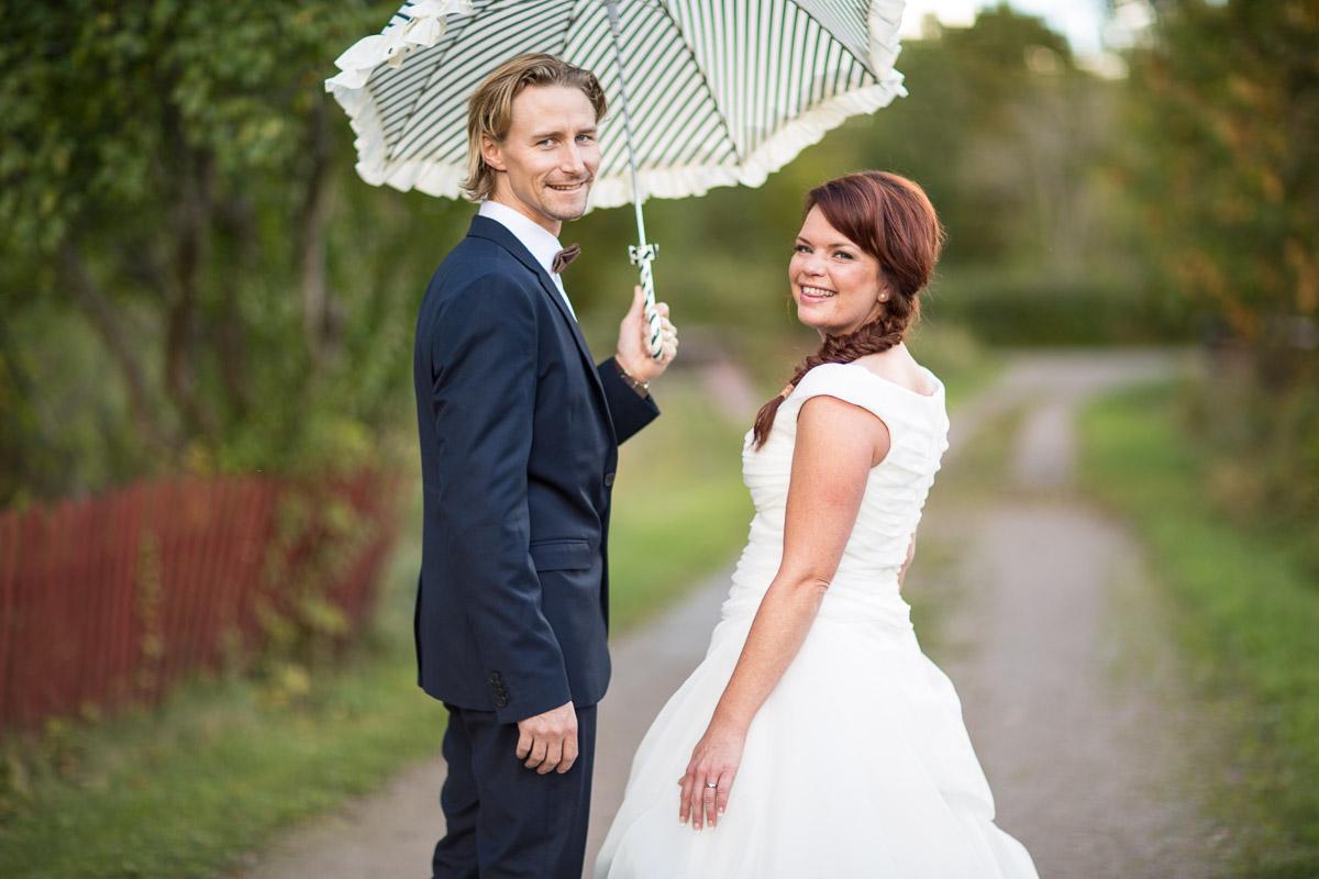 Trädgårdsbröllop i Uppsala